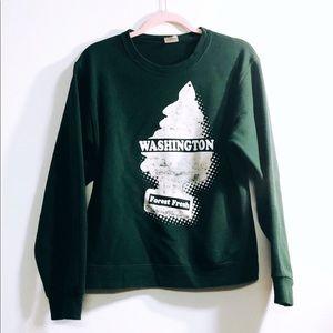 PNW Washington Forest Fresh Sweater
